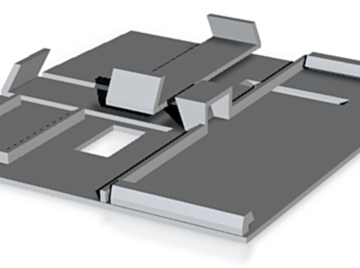 Balkensignalhalterung M-Gleis für Digitalisierung 3d printed