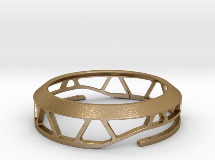 Moto360 Case - Steel 3d printed