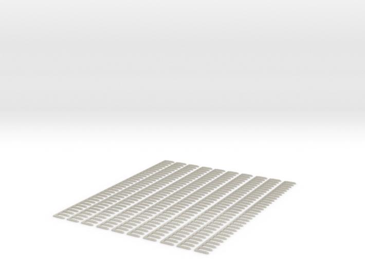10 X Schwellenjoch Ni 158mm 3mm Spur 3d printed