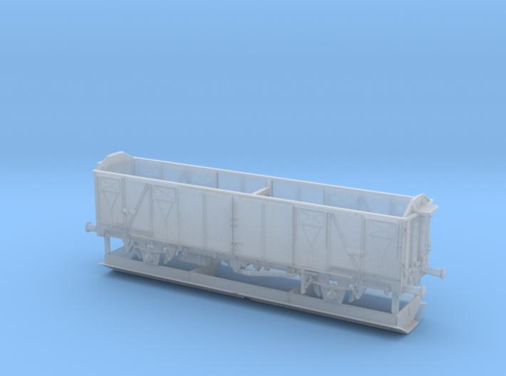 1/148 German train-ferry van E277 3d printed