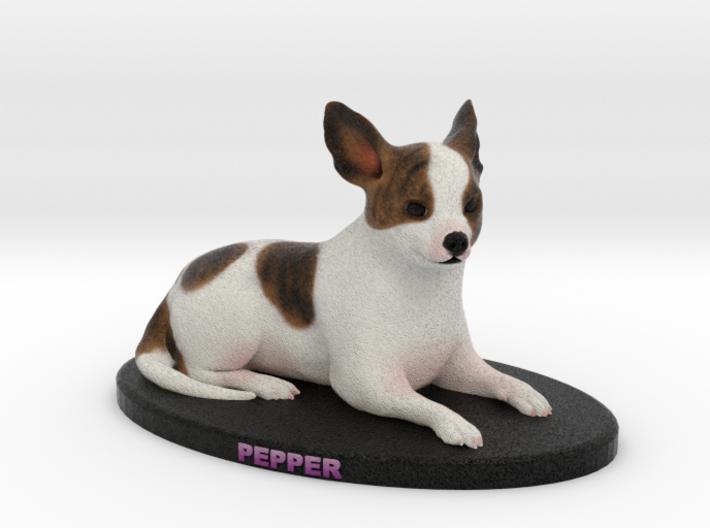 Custom Dog Figurine - Pepper 3d printed