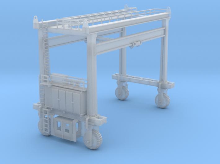 Mi Jack Container Crane 3d printed Mi-Jack Container Crane z scale