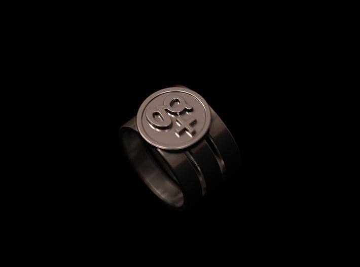 g+ ring 3d printed