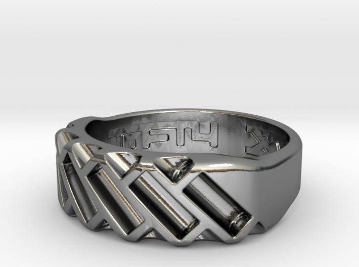 US11 Ring XVII: Tritium 3d printed
