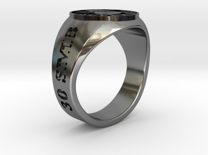 Superball Legman Ring 3d printed