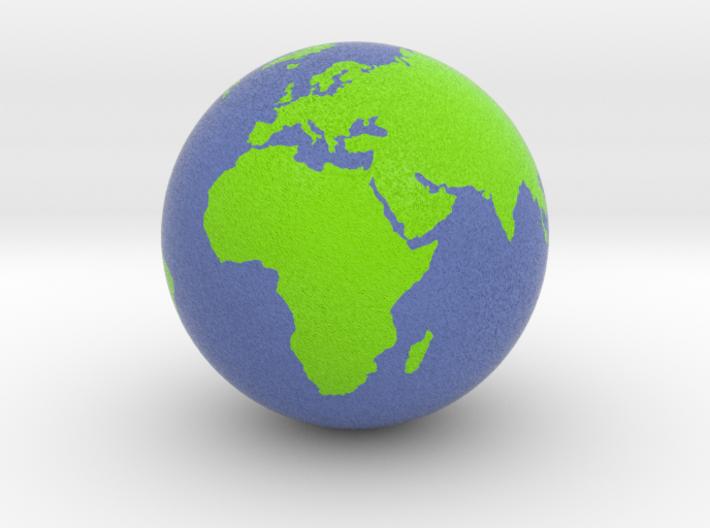Globe 3d printed