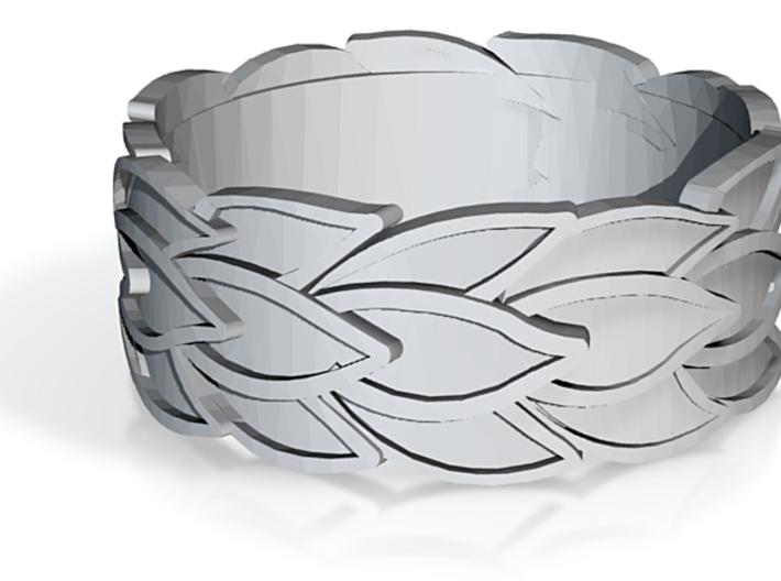 Strand Ring 3d printed