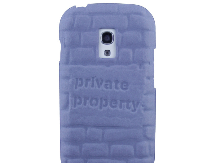 Samsung Galaxy S3 Mini Relief case 3d printed