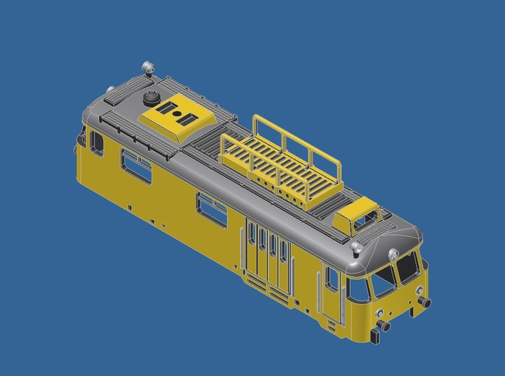 Z gauge 701 Turmwagen Umbausatz 1:220 3d printed Add a caption...