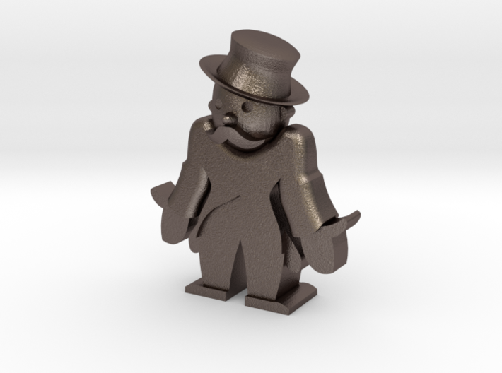 Monopoly man broke 3d printed