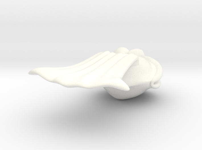 SuperClam White 3d printed