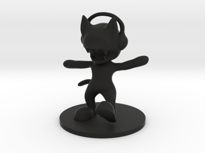 MonsterCat 3d printed