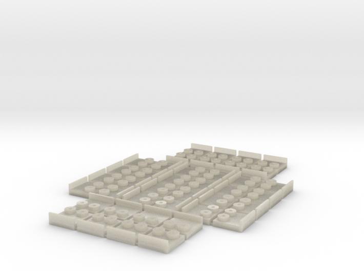 Remate 2x2 (40x) 3d printed