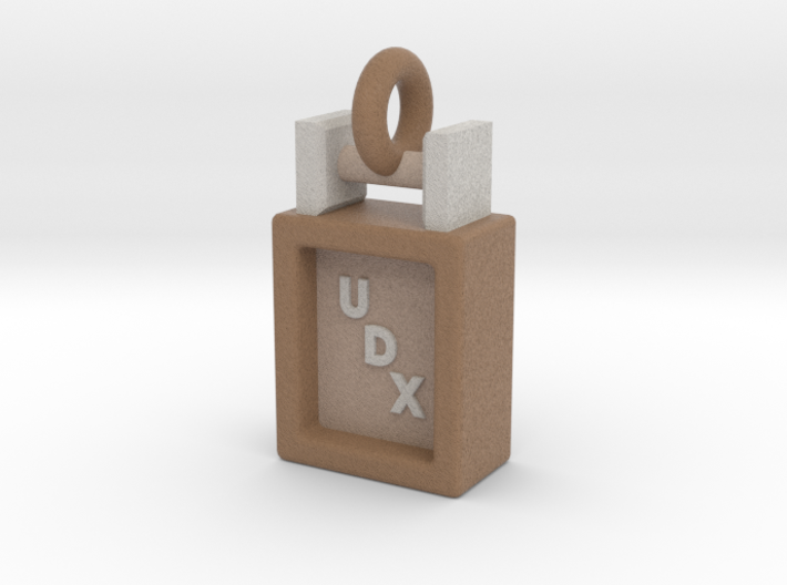 Obedience Scent Article Box UDX Title Pendant 3d printed