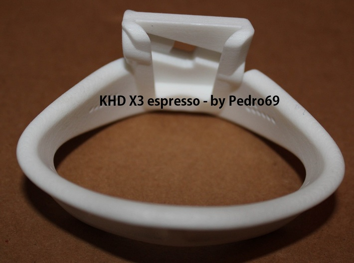 "KHD X3 espresso 120mm [4 3/4""] Ring 45-50mm 3d printed"