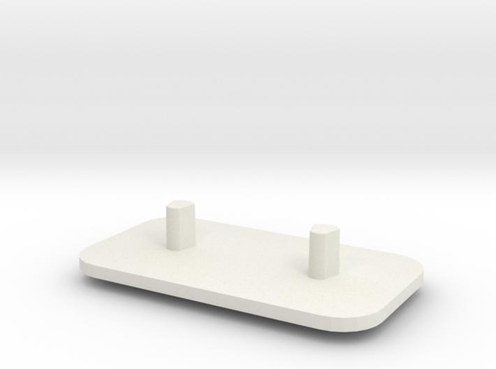 Electric Tooth Brush Holder(braun) 3d printed