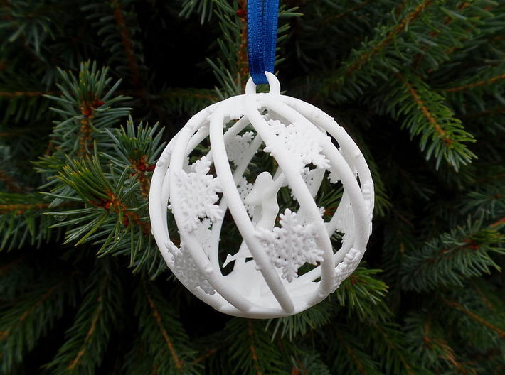 The Star Money Christmas Bulb 3d printed Beautiful Christmas Bulb