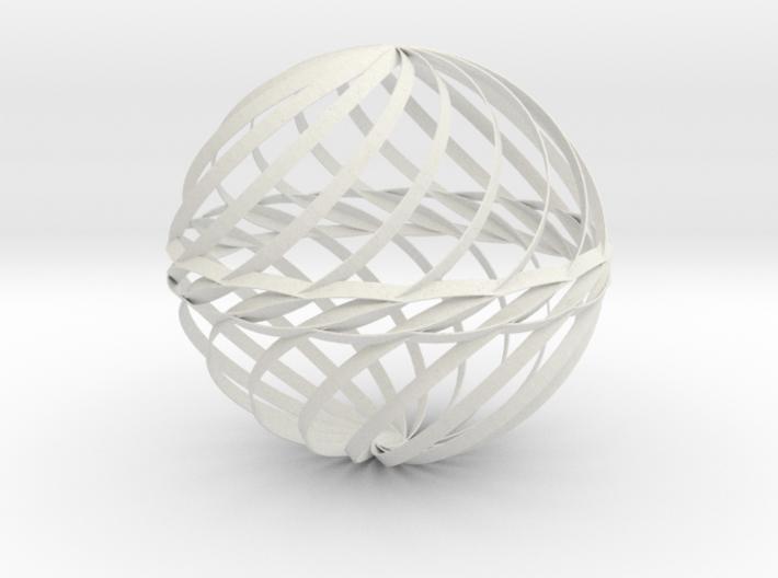 Decorative Ball Twist Spiral V2 3d printed