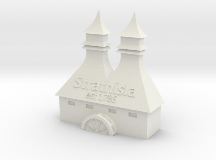 Strathisla Distillery 3d printed