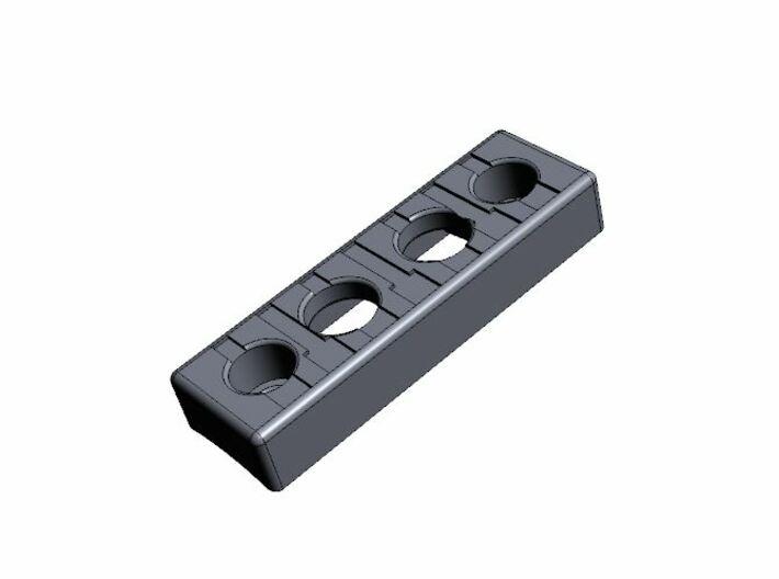 Low profile control box (V1) 3d printed
