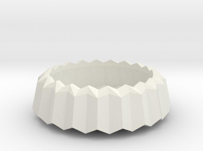 Stylish Faceted Designer Tea Candle Holder - 2,5cm 3d printed