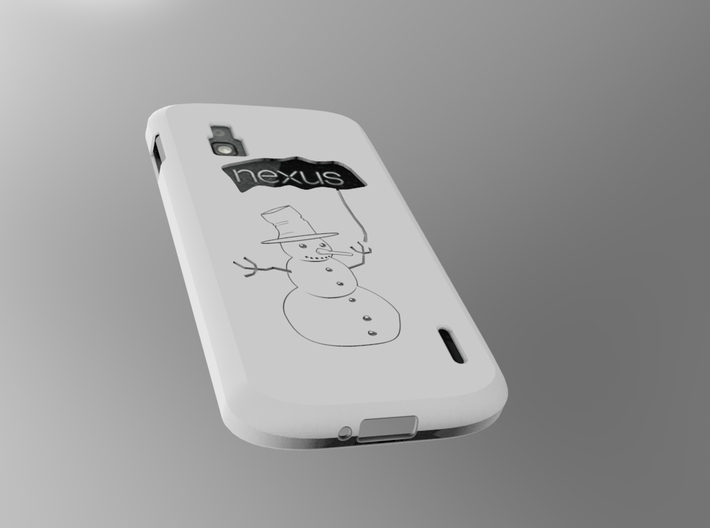 cover Nexus 4 Shell 3d printed Add a caption...