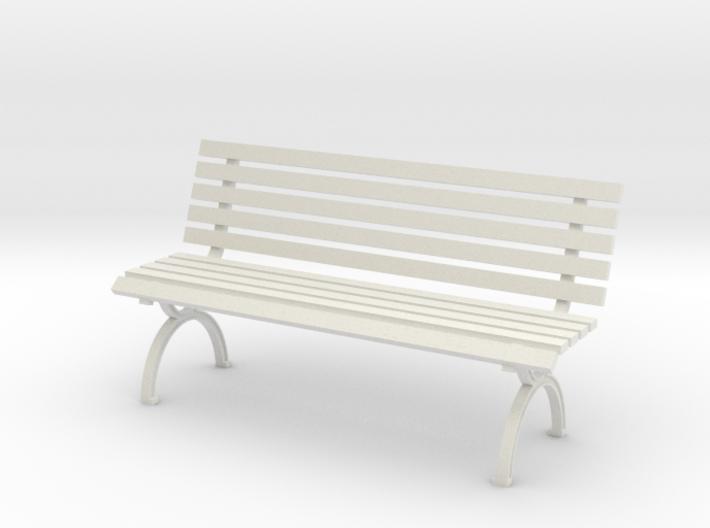 1:24 Park Bench 3d printed