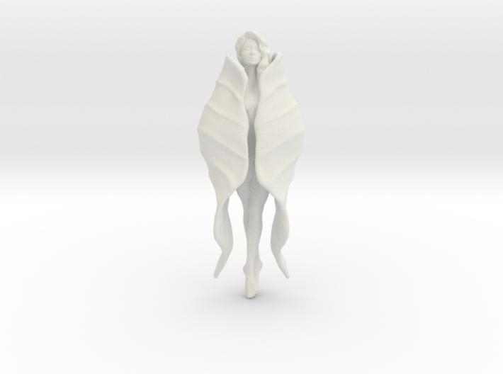 Girl Blossom Pendant 3d printed