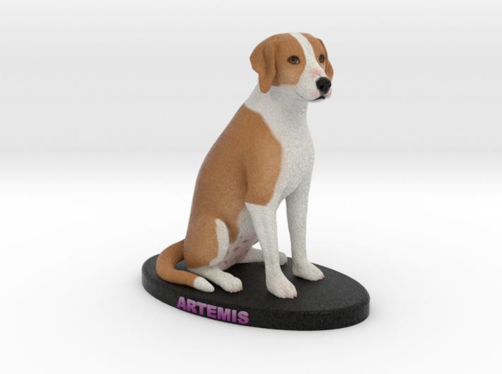 Custom Dog Figurine - Artemis 3d printed