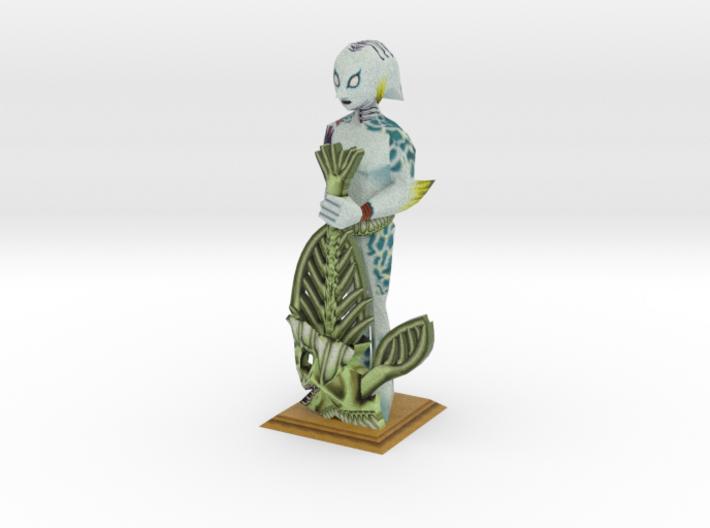 Zora Statue from Zelda Majora's Mask 3d printed