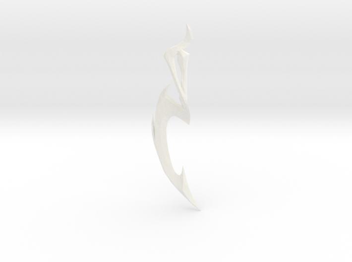 Diana Dark Valkyrie Sword 3d printed