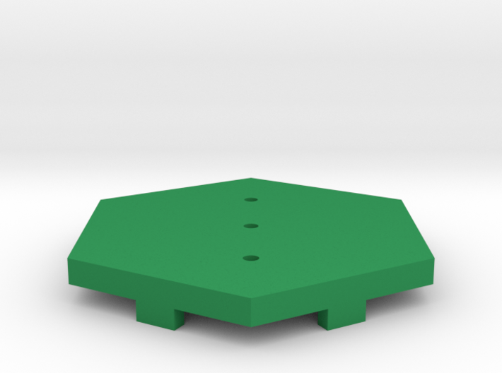 Grass Field Tile 3d printed