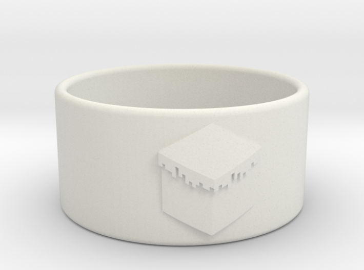 Minecraft Ring 18.5mm 3d printed
