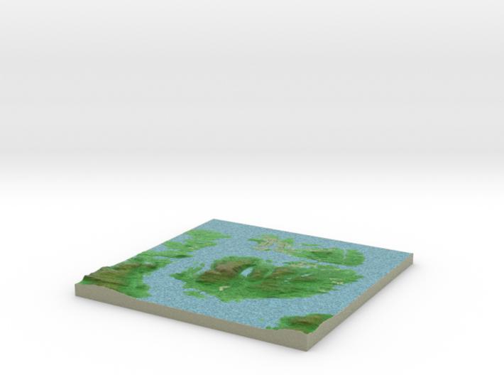Terrafab generated model Tue Oct 28 2014 00:20:44 3d printed