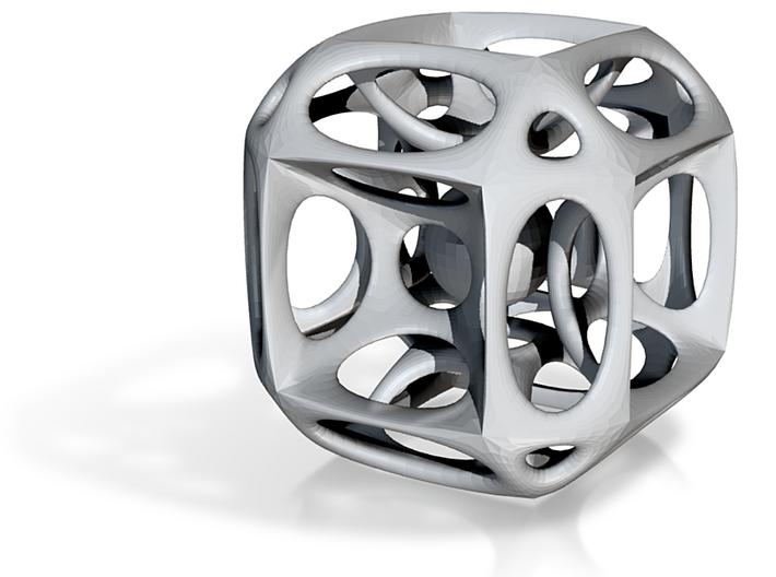 Cubed^3 x Sphere^1 3d printed