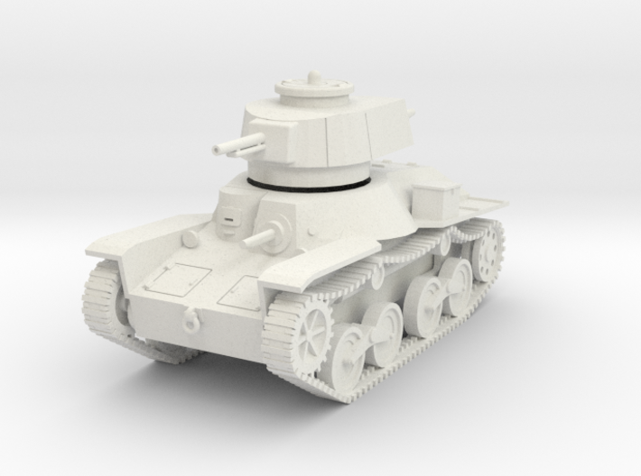 PV49A Type 4 Ke Nu Light Tank (28mm) 3d printed