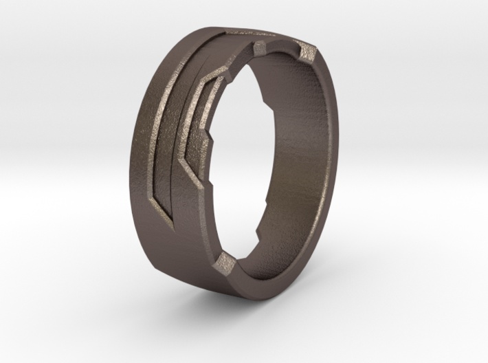 Ring Size K 3d printed