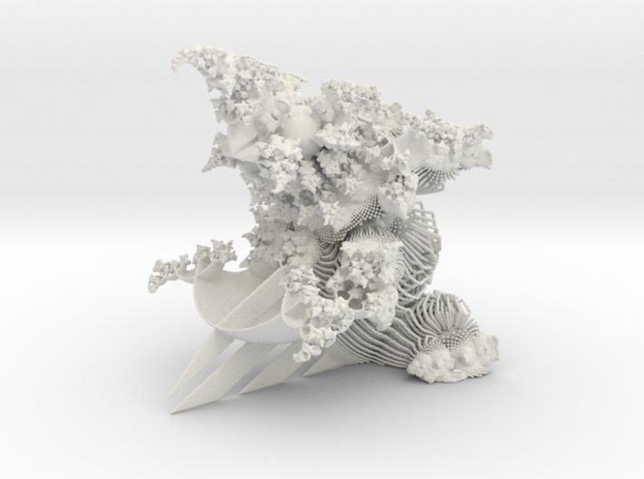 OrnaMENTAL Fractal Sculpture 3d printed