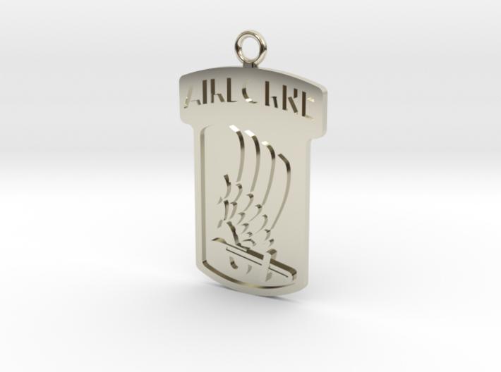173rd Airborne Pendant 3d printed