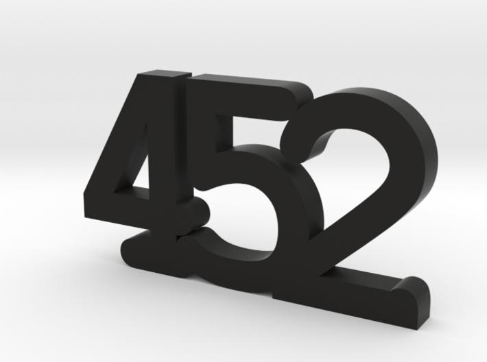 "smart car keychain ""452"" (smart Roadster) 3d printed"