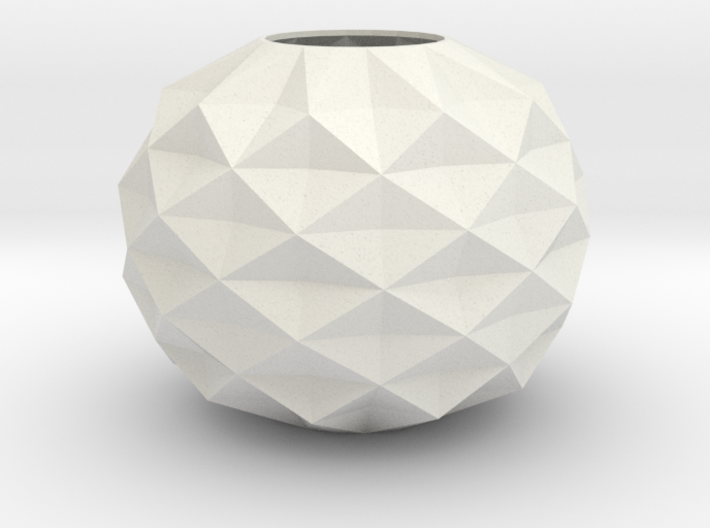 Stylish Faceted Designer Vase - 80mm Tall 3d printed