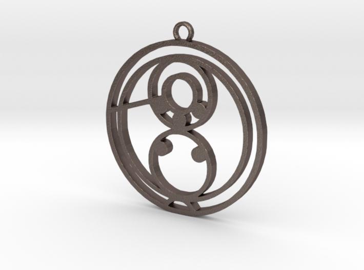 Cali / Kali - Necklace 3d printed