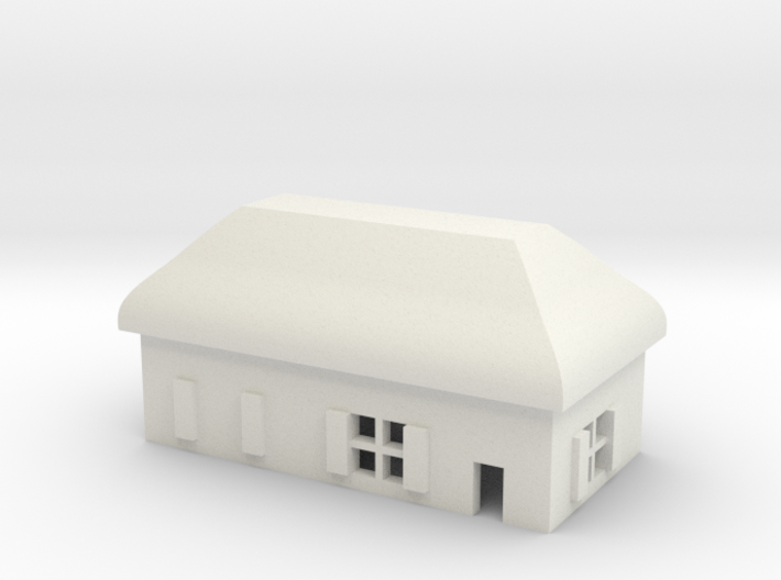 1/600 Village House 5 3d printed