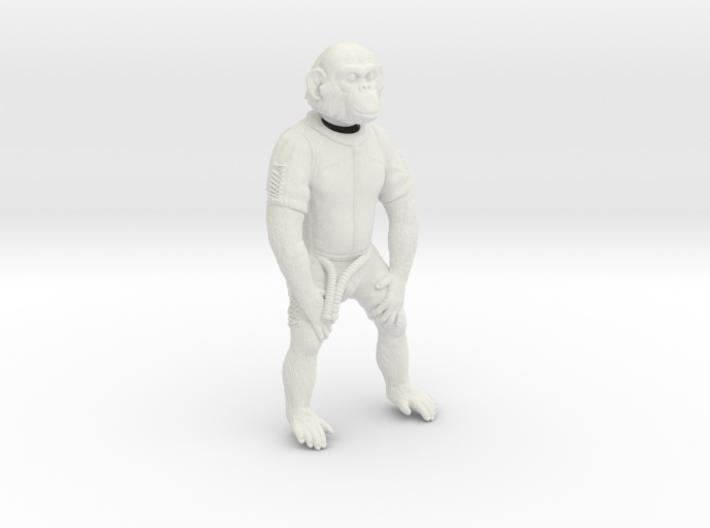 """""""HAM"""" Chimp Mercury Astronaut (Figure 130mm) 3d printed"""