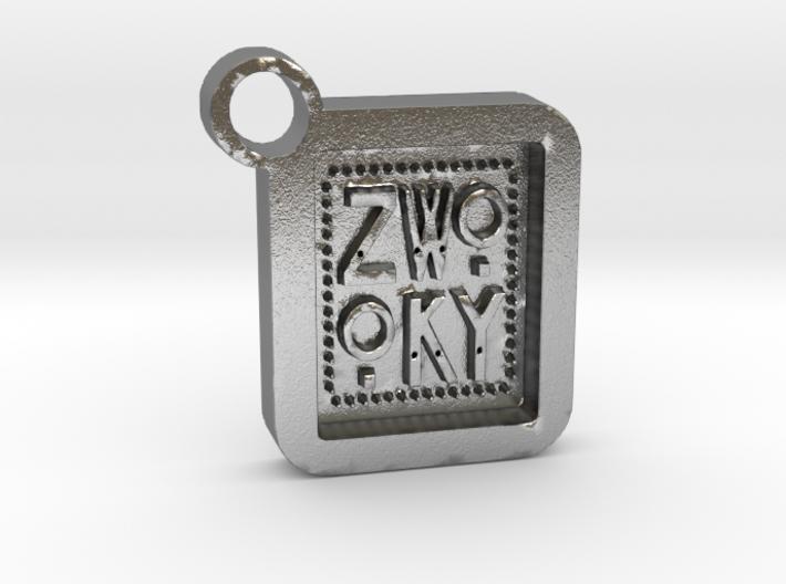 ZWOOKY Keyring LOGO 34 3cm 5.5mm 3d printed