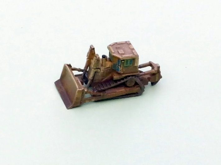 Armored Dozer Doobi 1/160 N Scale 3d printed 1/285 Model