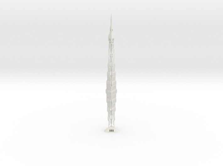 Infinity Tower Dubai 3d printed