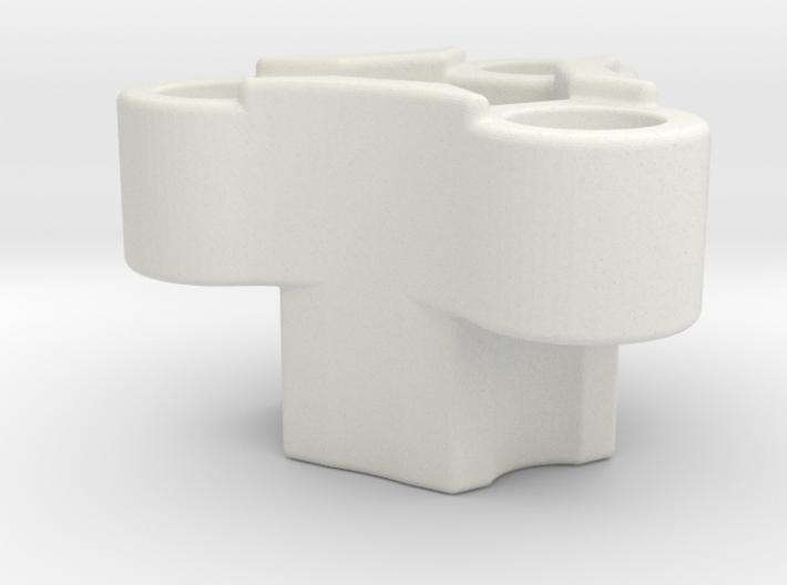 Rc-rim to 3 pin mount adaptor 3d printed