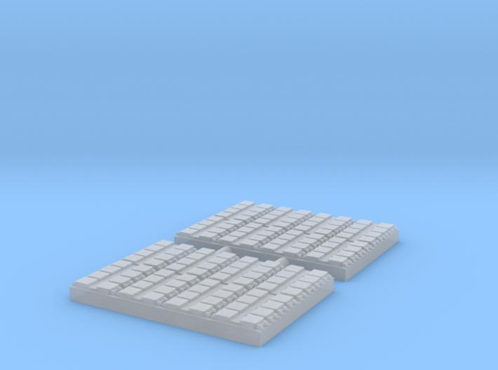 1/700 64 Cell Mk 41 VLS (x2) 3d printed