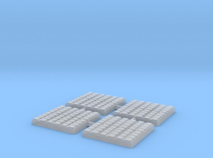 1/700 48 Cell Mk 41 VLS (x4) 3d printed
